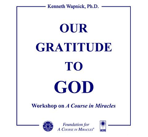 Excerpt Series - Our Gratitude to God