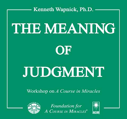 Excerpt Series - The Meaning of Judgment